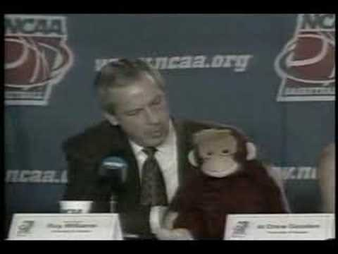 Roy Williams likes to jerk the monkey off