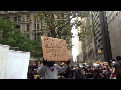 Occupy Wall Street - October 21, 2011