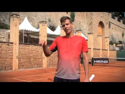 HEAD On Court - With Tomas Berdych: Groundstrokes and moving on clay