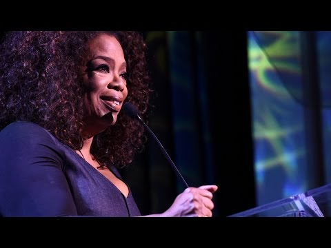 Oprah's Tearful Speech