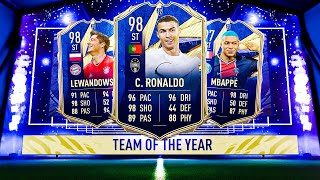 THIS IS WHAT I GOT IN 60,000 FIFA POINTS FOR TOTY ATTACKERS! #FIFA21 ULTIMATE TEAM