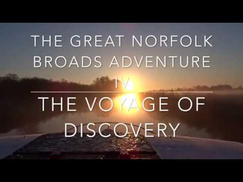 The Great Norfolk Broads Adventure IV Day 3 16th October 2017
