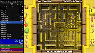 Ms. Pac-Man Quest for the Golden Maze speedrun in: 25:46