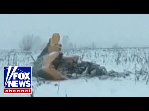 Deadly plane crash outside of Moscow