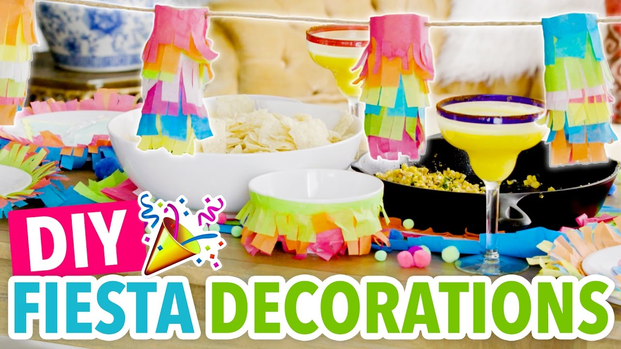 Diy Mini Pinatas Tissue Paper Fiesta Decorations Cinco De Mayo Hgtv Handmade