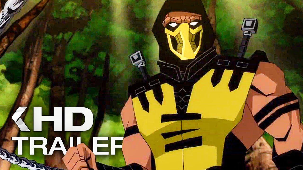 Mortal Kombat Legends Scorpion S Revenge Trailer 2020 Youtube