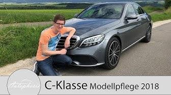 2018 Mercedes-Benz C-Klasse Modellpflege: Fahrbericht des C 200 und C 300d 4MATIC - Autophorie