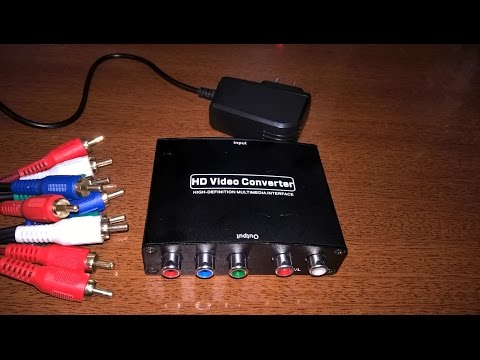 HDMI To RGB  Component Converter