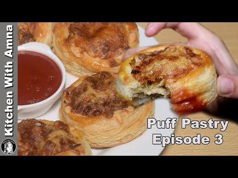 New Style Chicken Cheese Patties Recipe - Puff Pastry Episode 3 - Kitchen With Amna