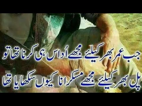Best Udaas Shayari //New Best Sad Poetry//Amazing Best Poetry//Heart Touching Sad Shayari Urdu Hindi