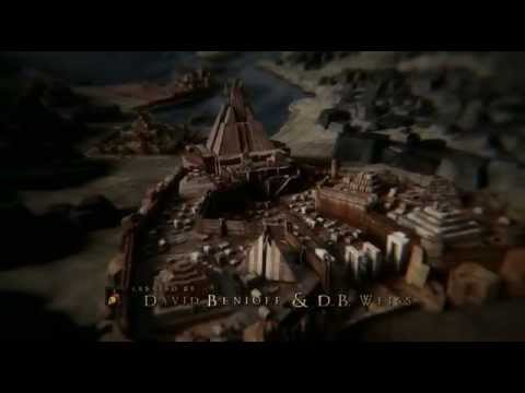 Game of Thrones - Season 1-4 Extended Map Opening