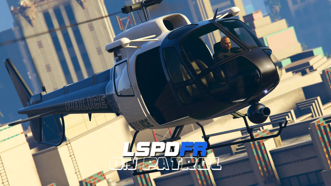 LSPDFR - On Patrol - Day 5 - Helicopter Support