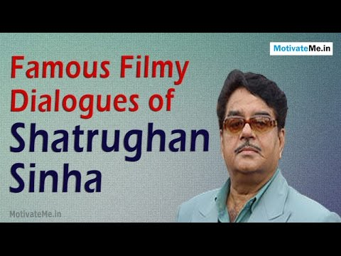 Famous Filmy Dialogues of Shatrughan Sinha
