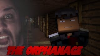 "Minecraft HORROR ""THERE WILL BE SWEARING"" THE ORPHANAGE (Minecraft Horror Map) w/ Facecam"