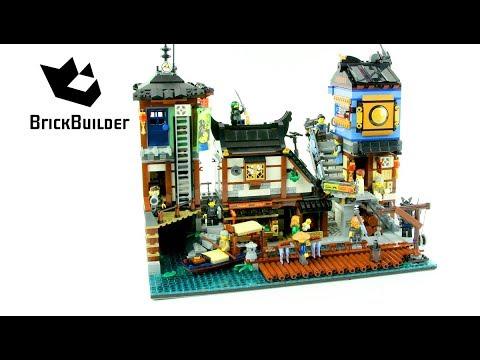 lego ninjago 70657 ninjago city docks - lego speed build - youtube