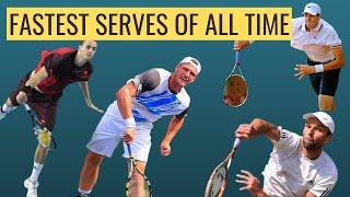 Top 4 FASTEST Tennis Serves Ever Recorded | Karlovic, Isner, Olivetti, Groth