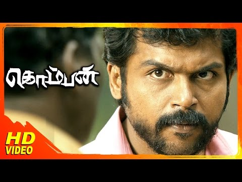 Komban Tamil Movie | Scenes | Karthi Says Thanks To G Gnanasambandam | Rajkiran