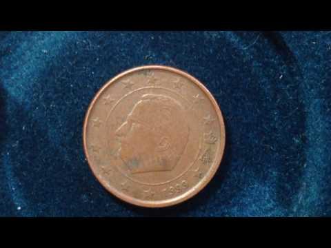 1999 Belgium Euro Cent Coin