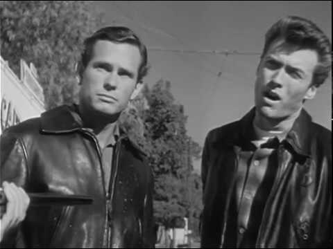 S1Ep27 Highway Patrol Motorcycle A with Clint Eastwood in Chatsworth