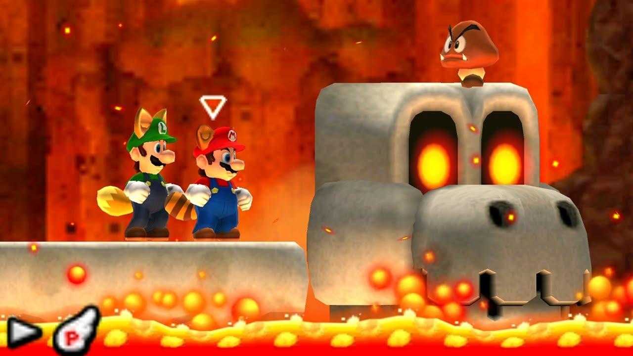 New Super Mario Bros  2 - 100% Walkthrough - World 6 (2 Player)