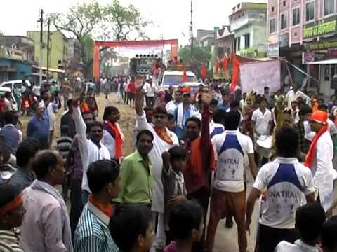 Hanuman Jayanti Rally Shobhayatra bilaspur chhattisgarh by hanuman bhakt