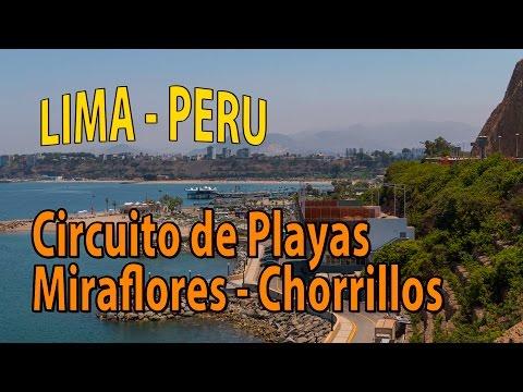 Circuito de Playas Miraflores - Chorrillos Lima - Perú