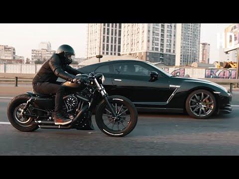 Автомобиль возит тело, а байк Душу! Harley-Davidson Sportster 883 Iron Bobber.