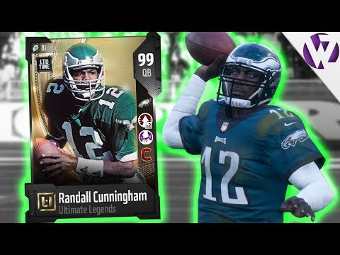ULTIMATE LEGEND RANDALL CUNNINGHAM!!  Madden 18 Gameplay