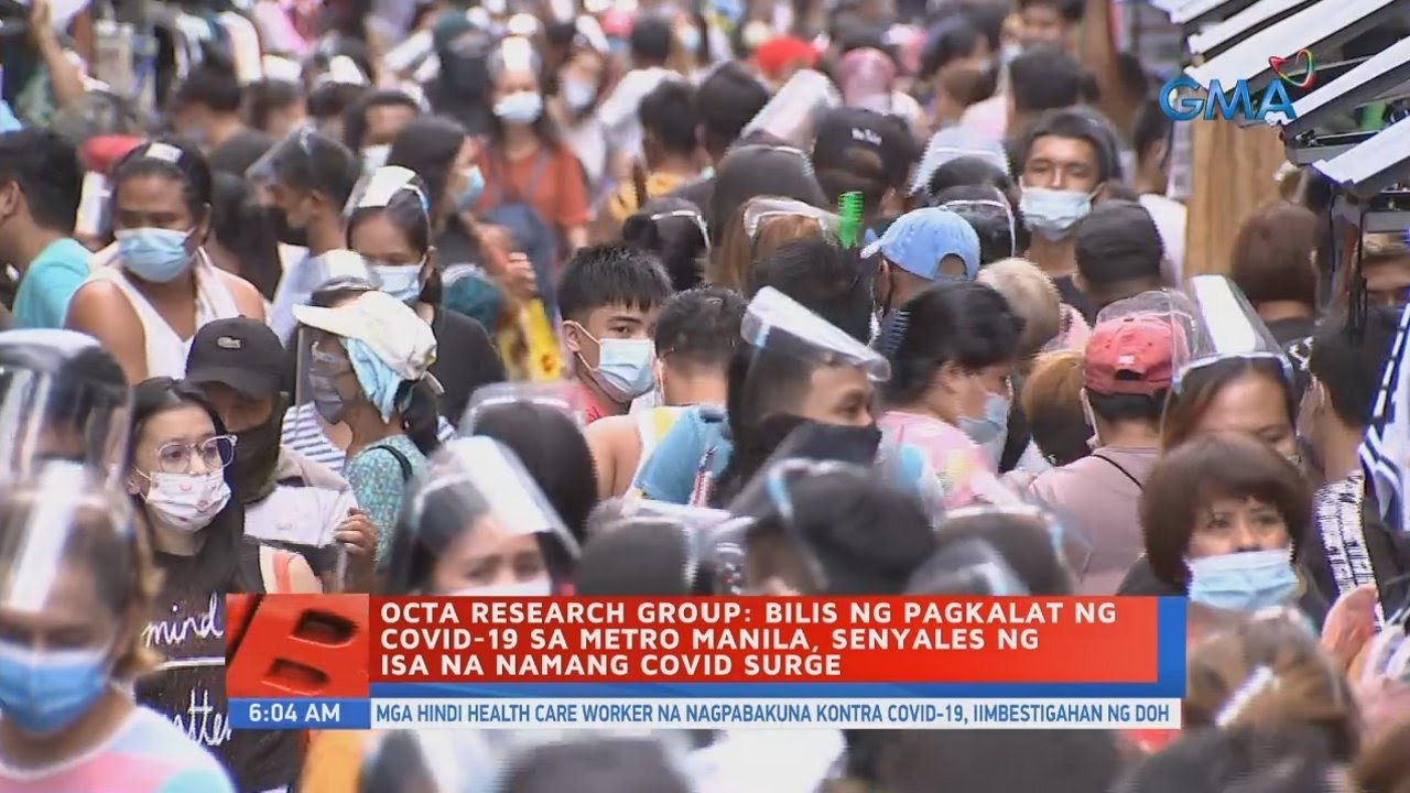 Download OCTA Research Group: Bilis ng pagkalat ng COVID-19 sa Metro Manila, senyales...   UB