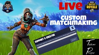 EU CUSTOM MATCHMAKING WITH SUBS (PS4, XBOX, PC, MOBILE/SWITCH)Fortnite: Battle Royale #CodeBri #Fort
