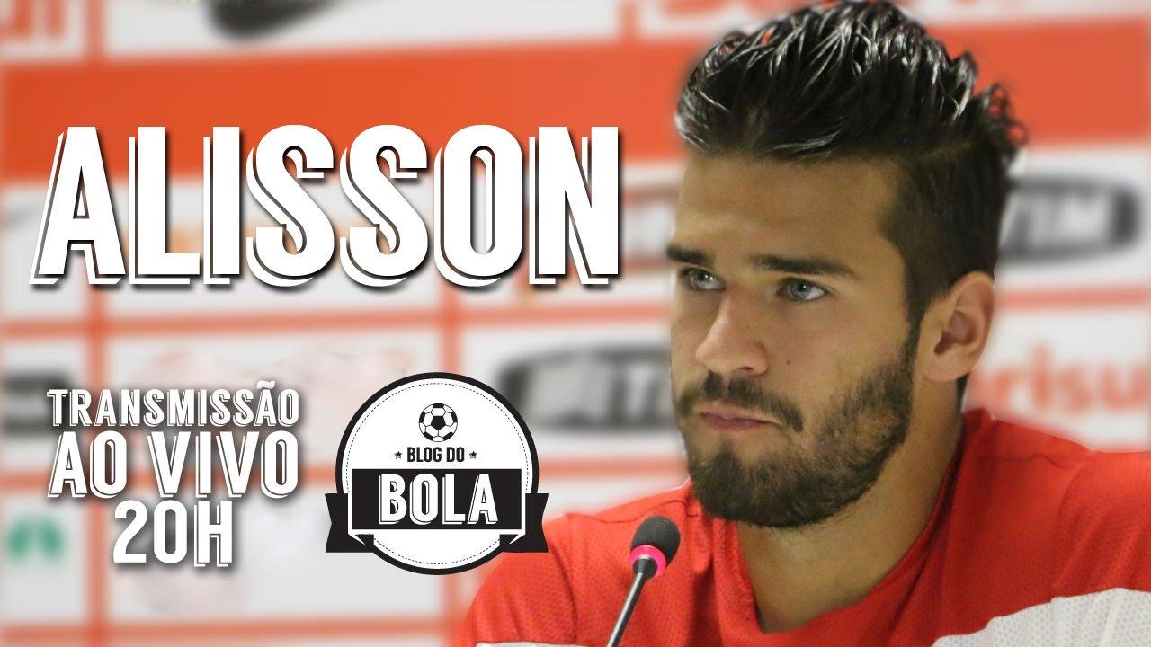 BOLA ATLÂNTIDA com Alisson, o goleiro mais bonito do ...