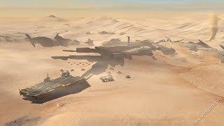 Кинематографичная Стратегия про Войну в Пустыне ! Игра Homeworld: Deserts of Kharak