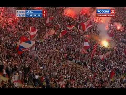 Гол Дзюбы ЦСКА-Спартак 2:1 28.4.2012