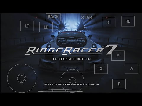 PS3 Emulator On Android - Ridge Racer 7 3D - Samsung S10+