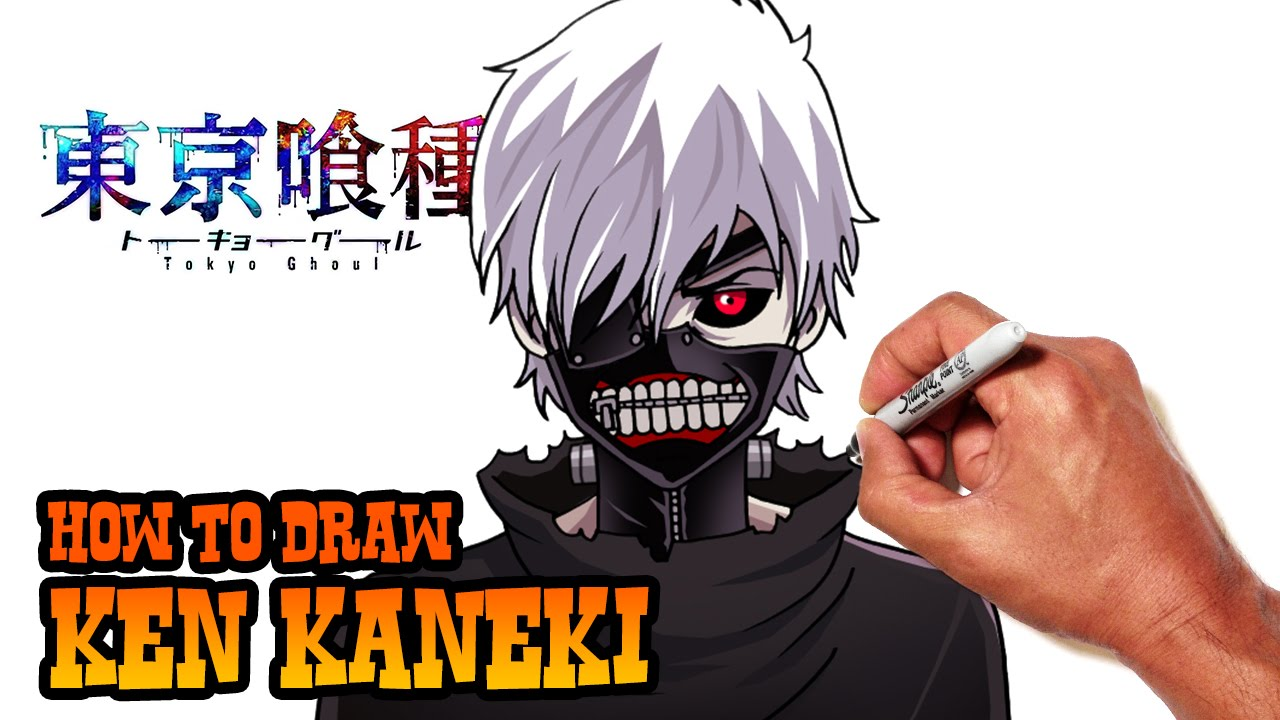 How to Draw Kaneki | Tokyo Ghoul