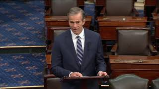 Thune Discusses Deal That Will Fund Military