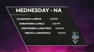 Arena of Valor: Valor Series - [EU] Week 5 Day 1
