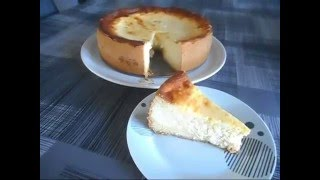tarte au fromage / kasekuchen