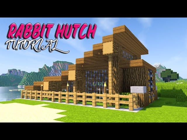 Minecraft Tutorial: How To Make A Rabbit Hutch
