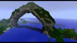 Minecraft: Nature Bridge Time Lapse - Voxel Sniper