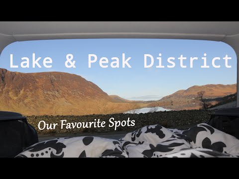 UK Car Camping - Wild Camping In The Lake And Peak District