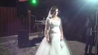 Слова благодарности невесты.
