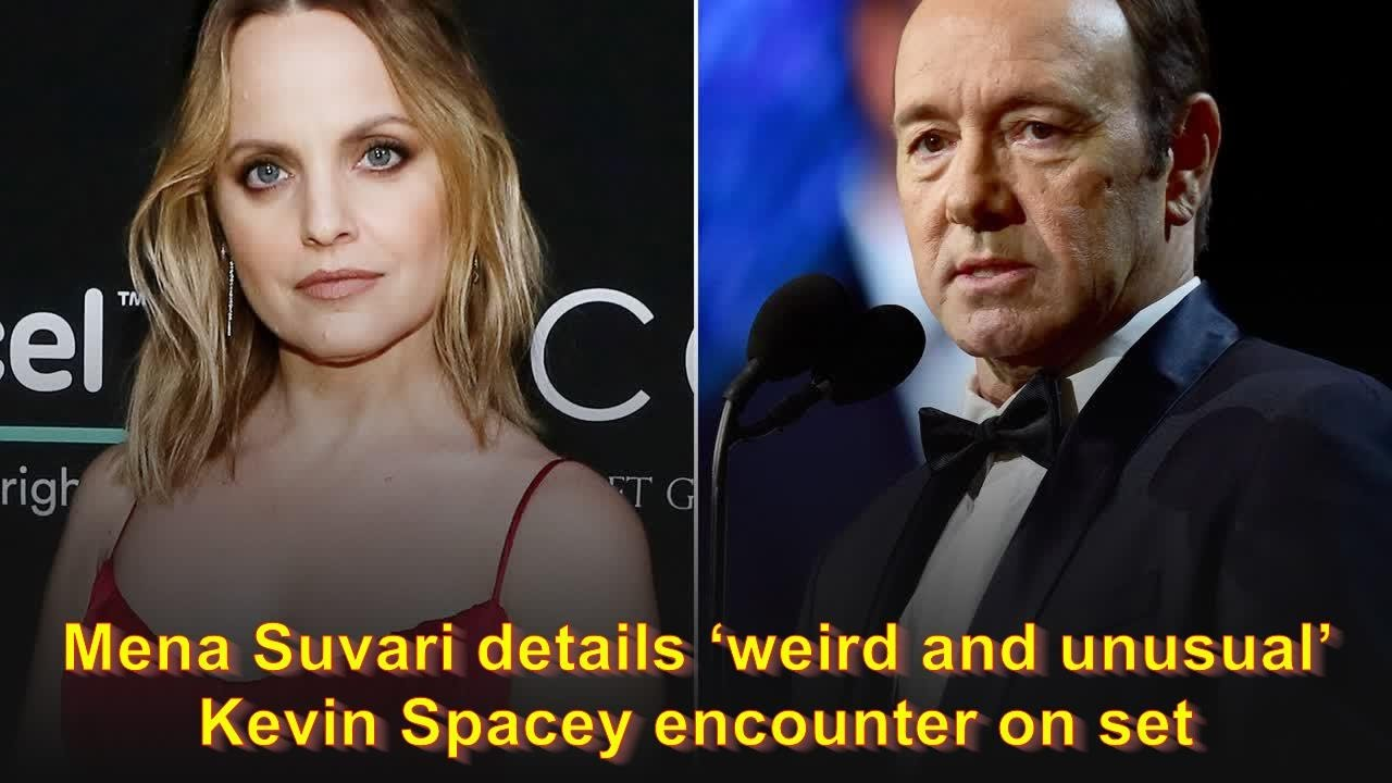 Mena Suvari details 'weird and unusual' Kevin Spacey encounter on ...