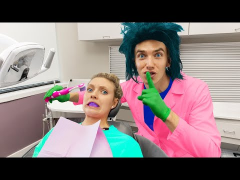 WORKING UNDERCOVER as DENTIST FOR 24 HOURS!! (Face Reveal Prank on Grace Sharer)