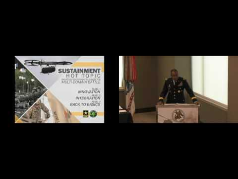 2017 AUSA Sustainment Hot Topic - LTG Aundre F. Piggee - Deputy Chief of Staff, G-4