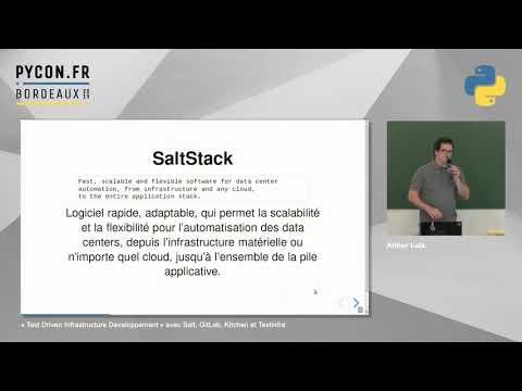 Image from TDID − « Test Driven Infrastructure Developpement » avec Salt, GitLab, Kitchen et Testinfra