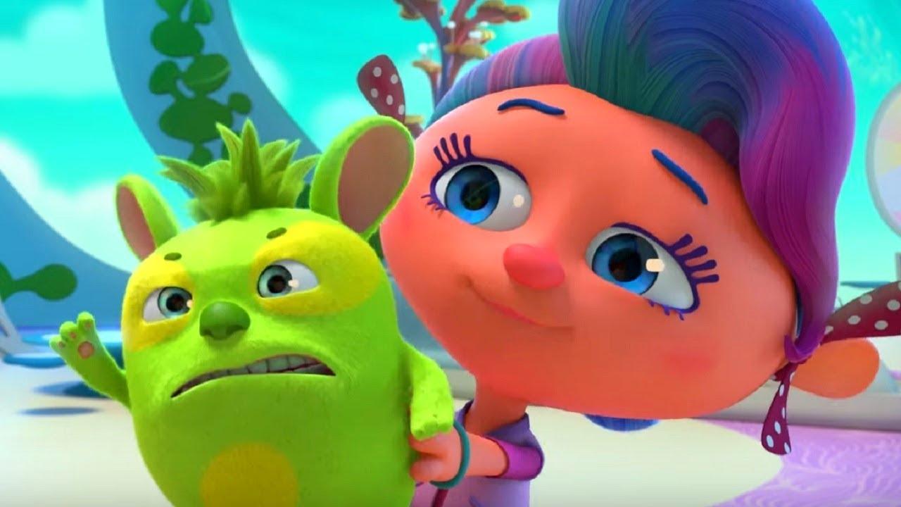 Монсики - все серии сразу - сборник - серии 7-9– мультфильм для детей – чувства и эмоции