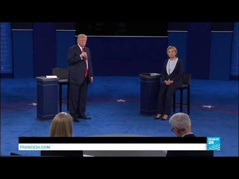 Présidentielles US : Tension, attaques personnelles.... le meilleur du débat Trump-Clinton