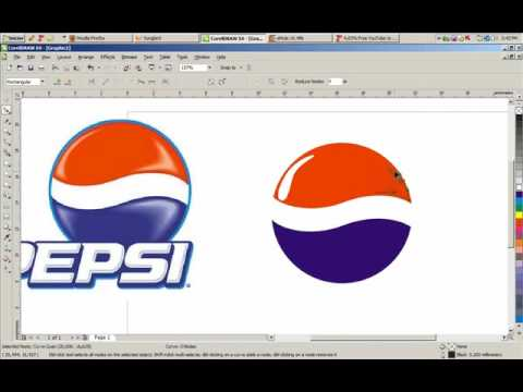 creer un logo avec corel draw
