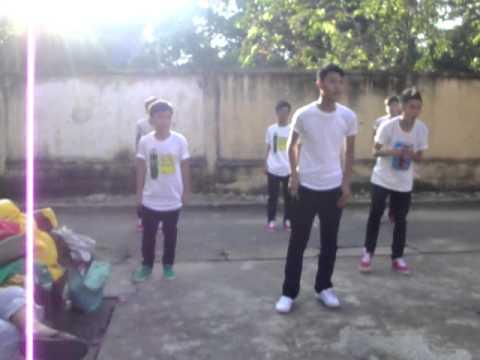 tập nhảy lớp 9 4 trường thcs long bình